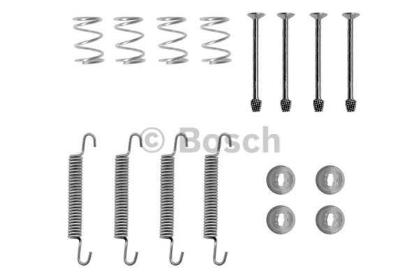 Kit d'accessoires, mâchoires de frein de stationnement - BOSCH - 1 987 475 240
