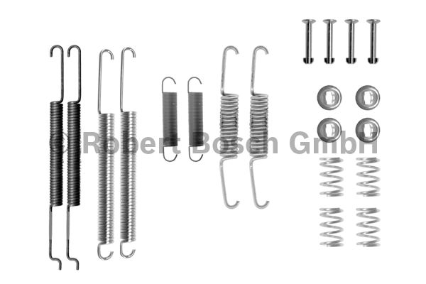 Kit d'accessoires, mâchoire de frein - BOSCH - 1 987 475 242