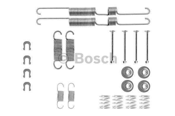 Kit d'accessoires, mâchoire de frein - BOSCH - 1 987 475 250