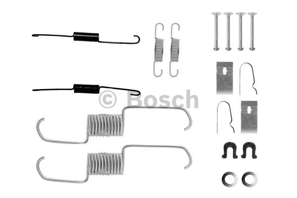 Kit d'accessoires, mâchoire de frein - BOSCH - 1 987 475 252