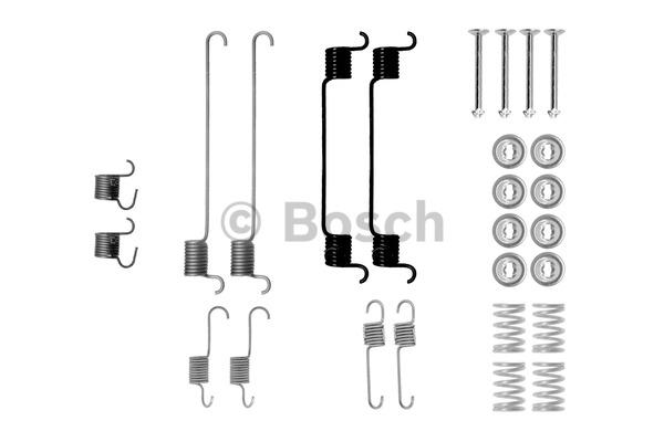 Kit d'accessoires, mâchoire de frein - BOSCH - 1 987 475 281
