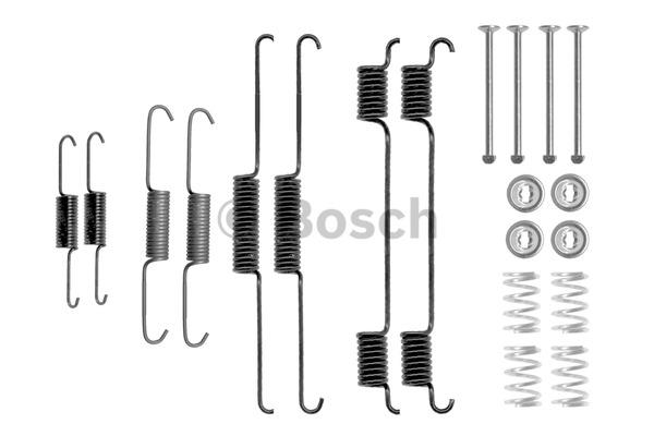 Kit d'accessoires, mâchoire de frein - BOSCH - 1 987 475 292