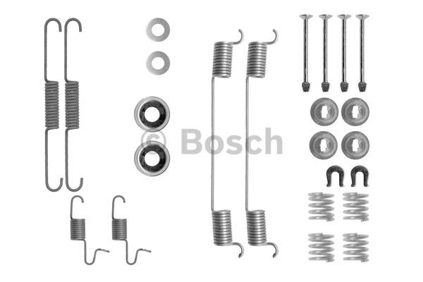 Kit d'accessoires, mâchoire de frein - BOSCH - 1 987 475 293
