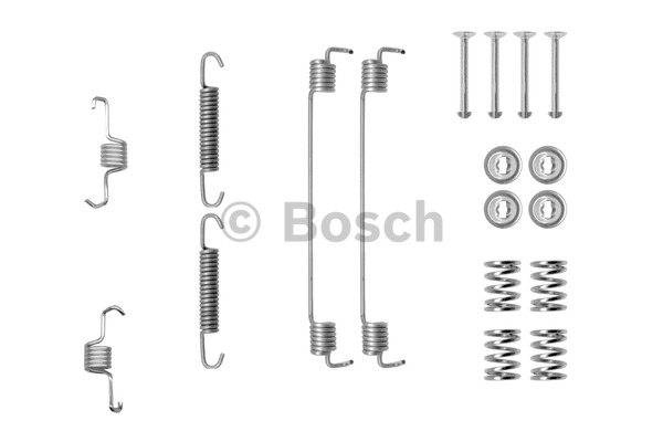 Kit d'accessoires, mâchoire de frein - BOSCH - 1 987 475 294