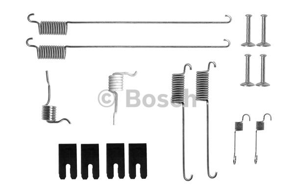 Kit d'accessoires, mâchoire de frein - BOSCH - 1 987 475 302