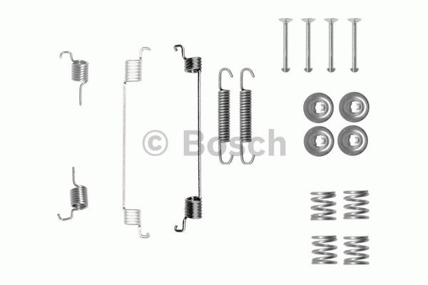Kit d'accessoires, mâchoires de frein de stationnement - BOSCH - 1 987 475 330
