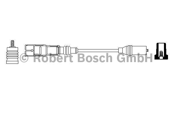 Faisceau d'allumage - BOSCH - 0 356 912 885