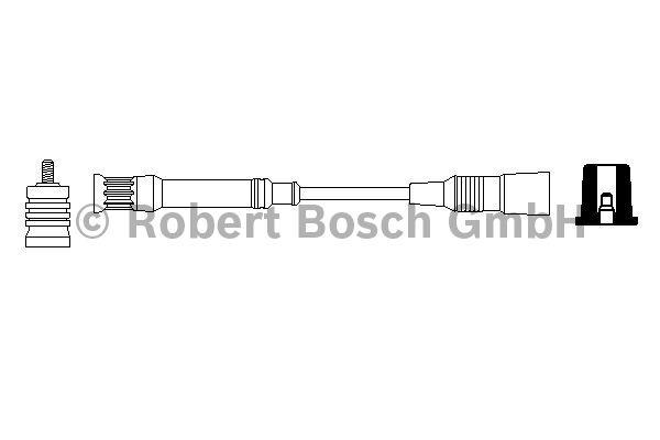 Faisceau d'allumage - BOSCH - 0 356 912 898