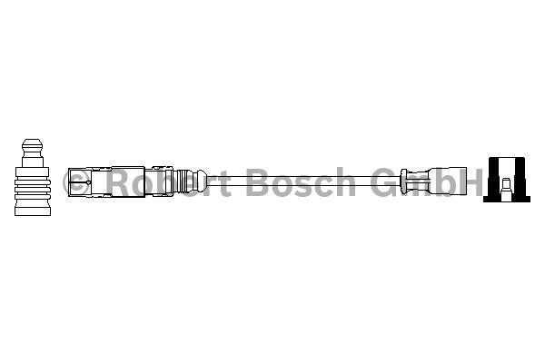 Faisceau d'allumage - BOSCH - 0 356 912 965