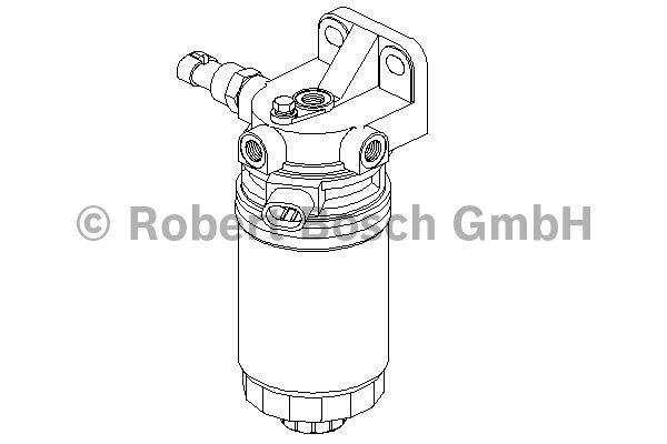 Filtre à carburant - BOSCH - 0 450 133 256