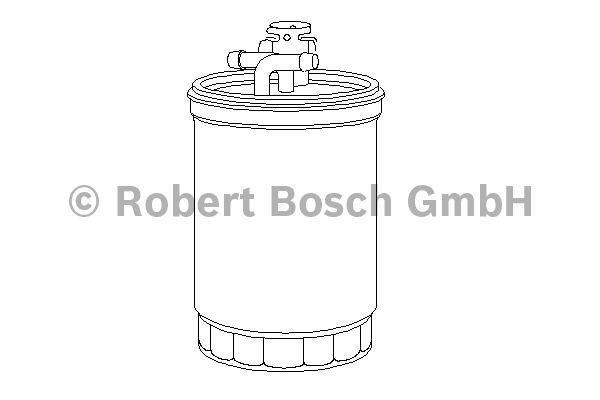 Filtre à carburant - BOSCH - 0 450 906 426