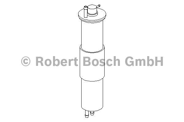 Filtre à carburant - BOSCH - 0 450 905 952