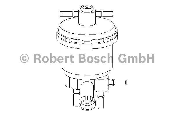 Filtre à carburant - BOSCH - 0 450 907 001