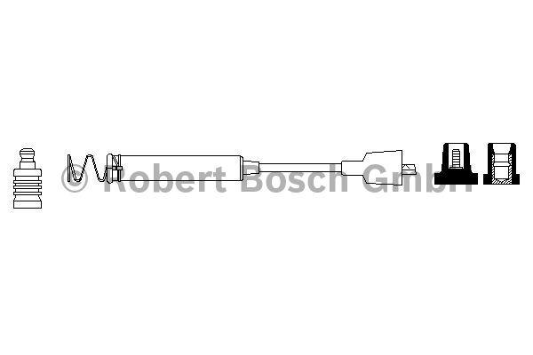 Faisceau d'allumage - BOSCH - 0 986 356 078