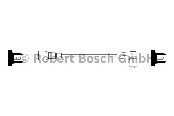 Faisceau d'allumage - BOSCH - 0 986 356 229
