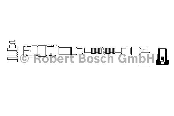 Faisceau d'allumage - BOSCH - 0 986 357 703