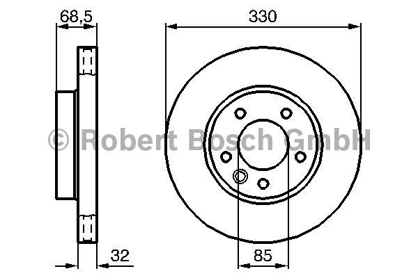 disque de frein bosch 0 986 479 250 amapiece. Black Bedroom Furniture Sets. Home Design Ideas