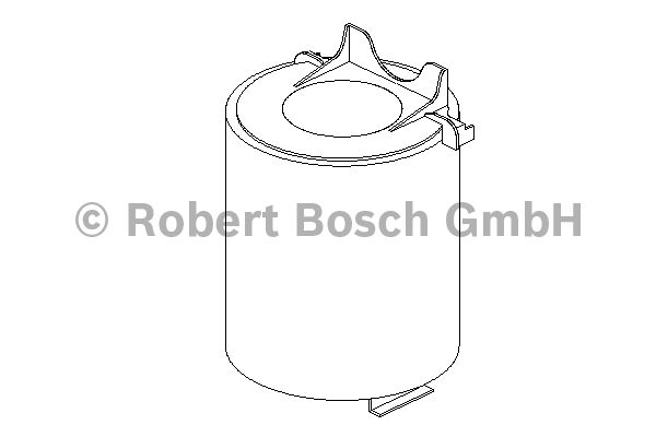 Filtre à air - BOSCH - 1 457 433 576