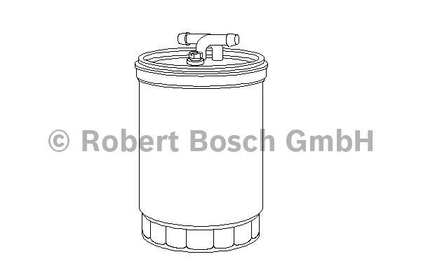 Filtre à carburant - BOSCH - 0 450 906 464