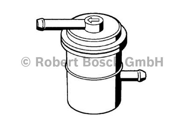 Filtre à carburant - BOSCH - 0 986 450 030