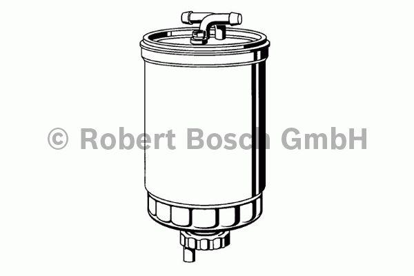 Filtre à carburant - BOSCH - 0 450 906 261