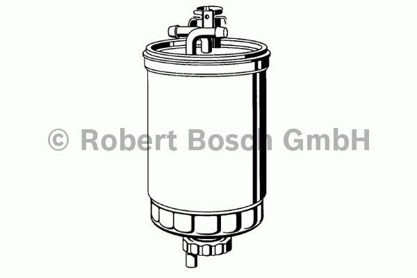Filtre à carburant - BOSCH - 0 450 906 376
