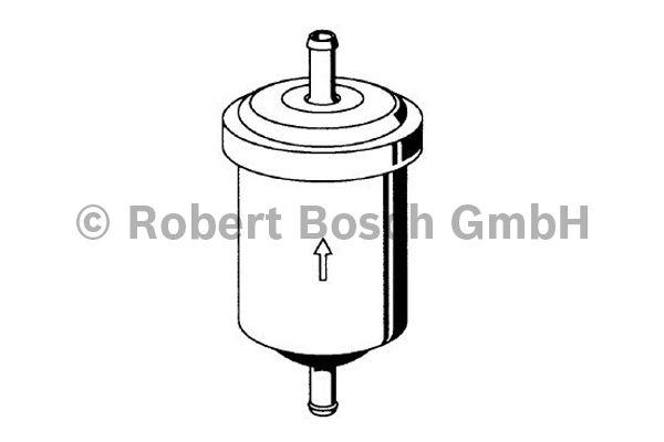 Filtre à carburant - BOSCH - 0 450 902 161