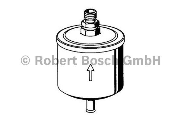 Filtre à carburant - BOSCH - 0 450 905 953