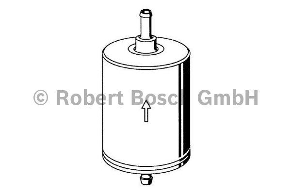 Filtre à carburant - BOSCH - 0 450 906 462