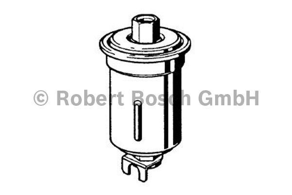 Filtre à carburant - BOSCH - 0 986 450 624