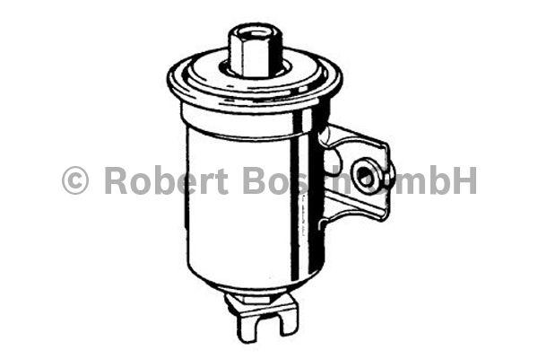 Filtre à carburant - BOSCH - 0 986 450 124