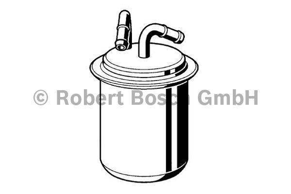 Filtre à carburant - BOSCH - 0 986 450 114