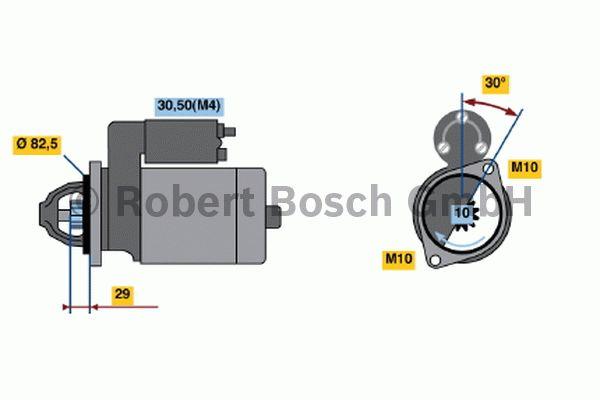 Démarreur - BOSCH - 0 001 219 007
