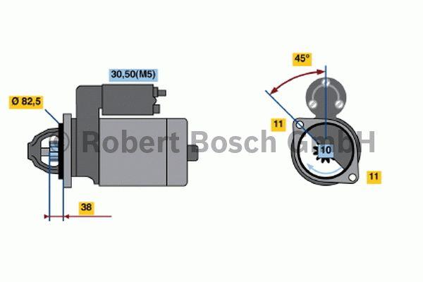 Démarreur - BOSCH - 0 001 223 502