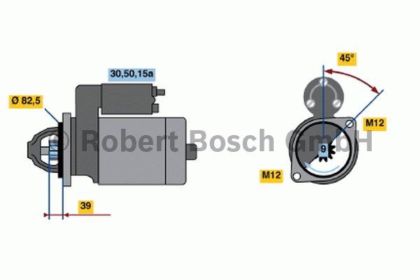 Démarreur - BOSCH - 0 001 311 114