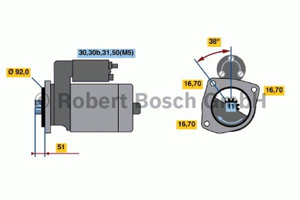 Démarreur - BOSCH - 0 001 420 029