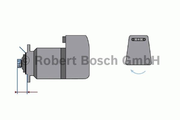 Démarreur - BOSCH - 0 001 601 007