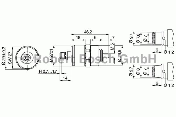 Électroaimant de levage - BOSCH - 0 330 001 020