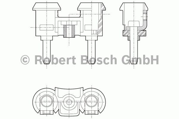 Avertisseur sonore - BOSCH - 0 320 223 911