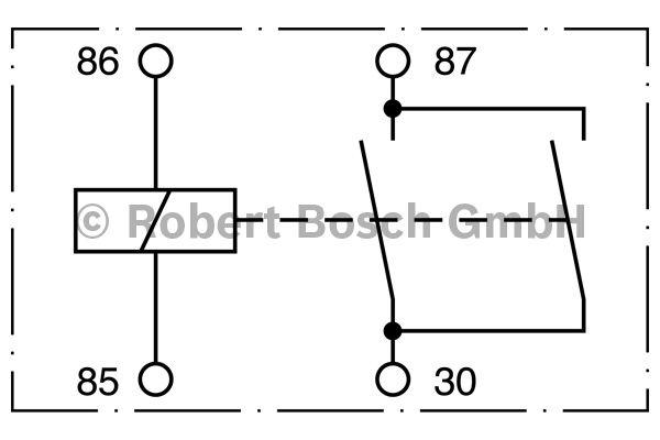 Relais - BOSCH - 0 332 002 150