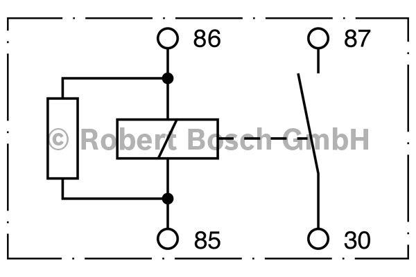 Relais - BOSCH - 0 332 002 192