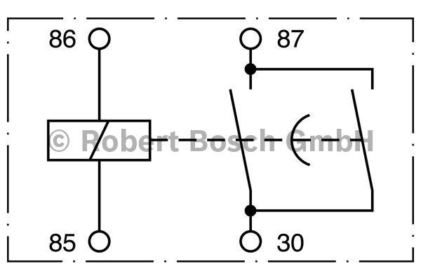 Relais - BOSCH - 0 332 002 250