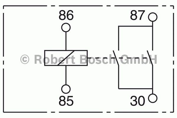 Relais - BOSCH - 0 332 002 351