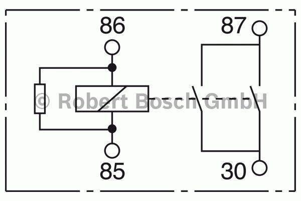 Relais - BOSCH - 0 332 002 352