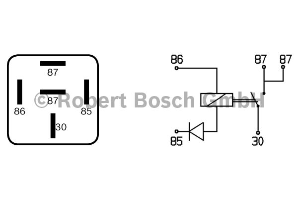 Relais - BOSCH - 0 332 014 112