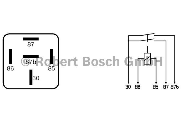 Relais - BOSCH - 0 332 015 002