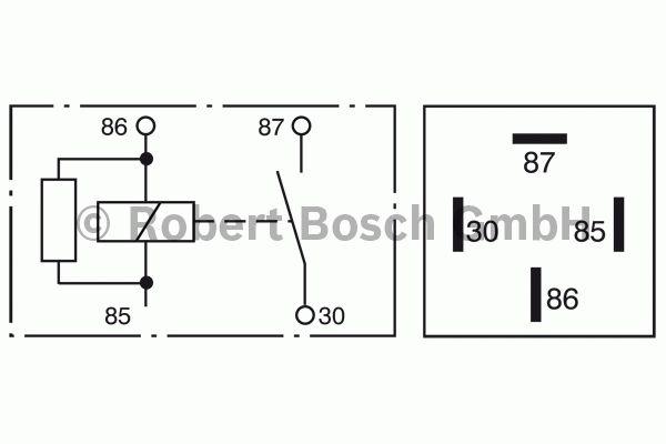 Relais - BOSCH - 0 332 019 453