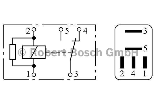Relais - BOSCH - 0 332 201 107