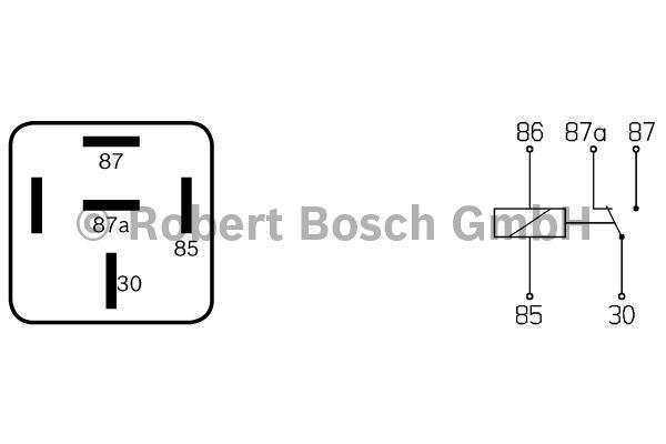 Relais - BOSCH - 0 332 204 001