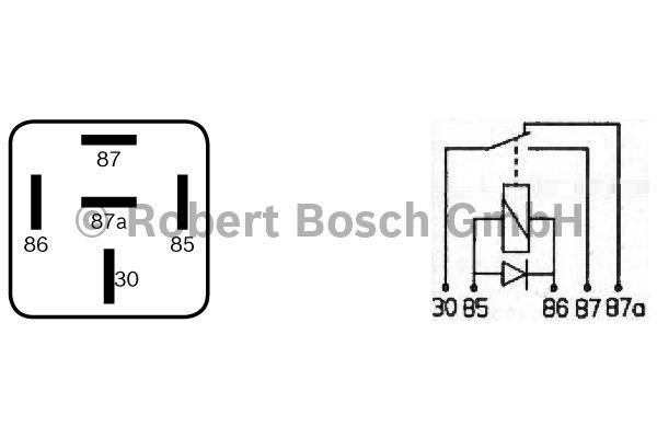 Relais - BOSCH - 0 332 209 204